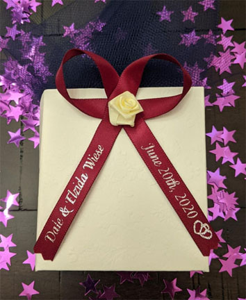 Wine Personalized Ribbon