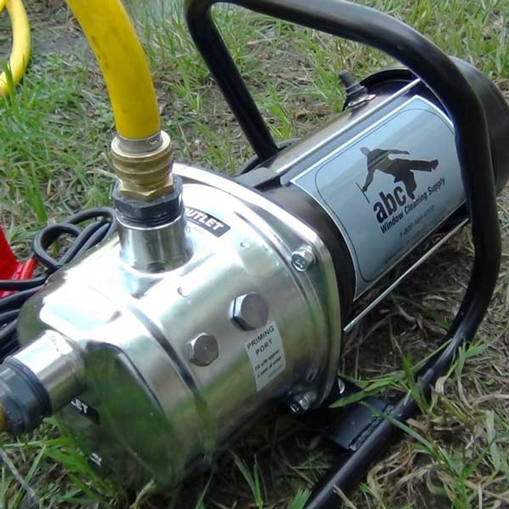Optional pump upgrade for the abc Phaser Electric WaterFed® Pure Water System