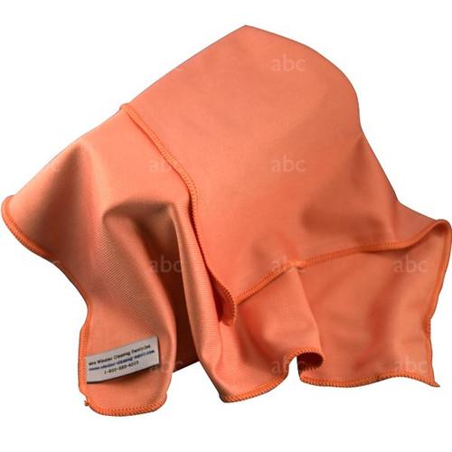 """Towel -- Microfiber - Triple Crown - Orange 16"""" x 16"""" - Each"""