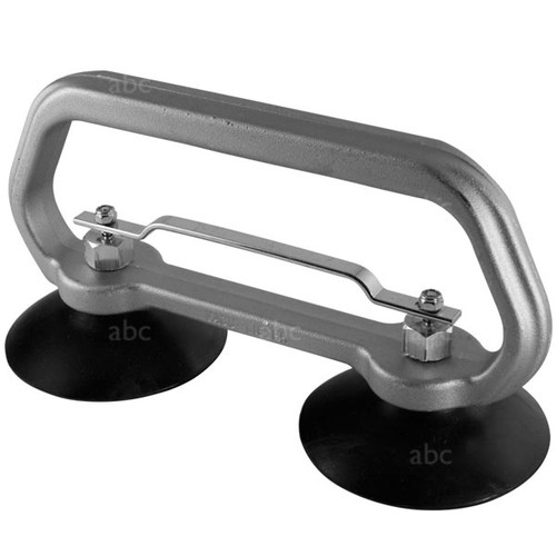 "Suction Cup Grabber - Double - 4"" - Stainless Steel Fittings"