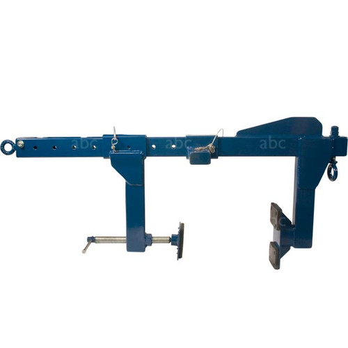 Tie Back Parapet Clamp -- MIO - Steel Construction