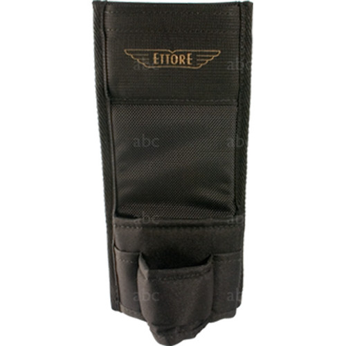 """Holster -- Squeegee - Ettore - 2 Loop Nylon - With Top Pocket - 10"""""""