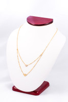 YELLOW GOLD NECKLACE, YG21KNECKLACE004, Size:Large, Weight: 0g