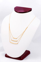 YELLOW GOLD NECKLACE, YG21KNECKLACE015, Size:Large, Weight:0g