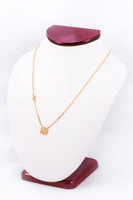 YELLOW GOLD NECKLACE, YG21KNECKLACE016, Size:Large, Weight:0g