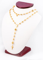 YELLOW GOLD NECKLACE, YG21KNECKLACE018, Size:Large, Weight:0g
