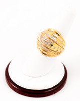 Yellow Gold Ring 21K, YGRING0004, Weight: 0g