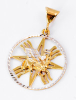 YELLOW GOLD PENDANT, YGPEND002, 21K, Weight: 0g
