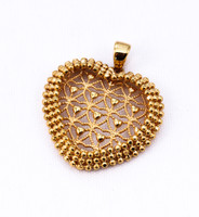 YELLOW GOLD PENDANT, 21KT, Weight: 0g, YGPEND0014