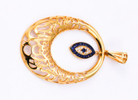 YELLOW GOLD PENDANT, 21KT, Weight: 0g, YGPEND00157