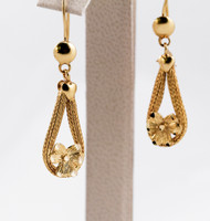 YELLOW GOLD EARRINGS, 21KT, Weight: 0g, YGEARRING21K0072