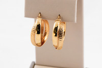 YELLOW GOLD EARRINGS, 21KT, Weight: 0g, YGEARRING21K0088