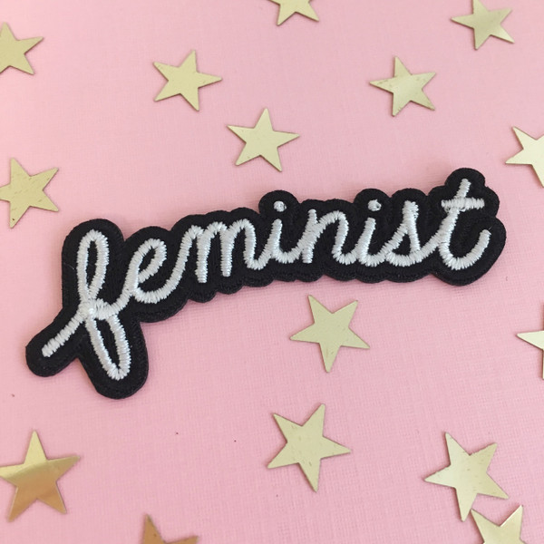 Feminist Patch - Iron On Patches Appliques - Wilflower Co.