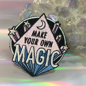 Make Your Own Magic Iron On Patch