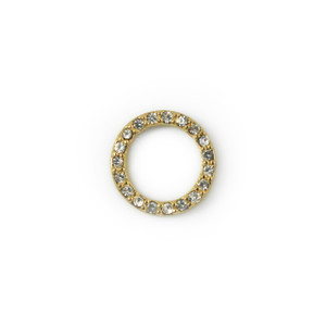 Dainty Pave Ring - Gold - Jewelry Making - Wildflower + Co.