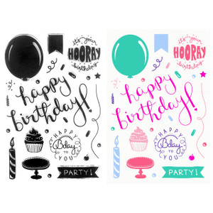 Clear Stamps – Happy Birthday