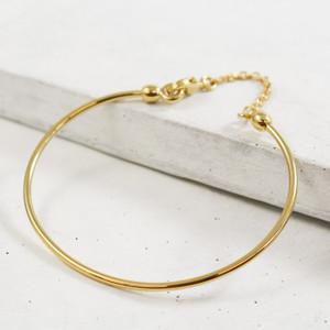 Charm Bangle Gold Wildflower + Co.