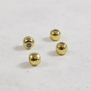 Stopper beads for Charm Bangle - Gold - Wildflower Co