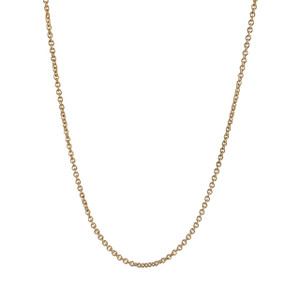 Chain Choker Necklace, Gold