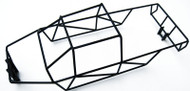 E-Maxx 3908 3903 Black Polished Stainless Steel Full Roll Cage