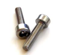 10 Socket Head Cap Screw 3mm x 12mm Stainless Screws