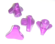 Associated Monster GT Purple Anodized Knock Off Hub Nuts