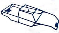 Revo 3.3  Blue Powder Coated Full Roll Cage
