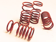Traxxas Slayer and XO-1 Orange powder coated Dual Rate Shock Springs Set