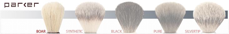Parker Shaving Brush Grades - Boar