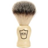 White Handle Vegan Shaving Brush