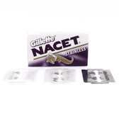 Gillette  NACET Stainless Double Edge Safety Razor Blades - 5 Count