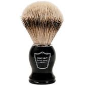 Parker Safety Razor 100% Silvertip Badger Bristle Shaving Brush (Black Handle)