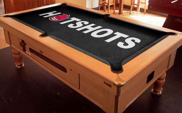 Hotshots Custom ArtScape Pool Table Felt