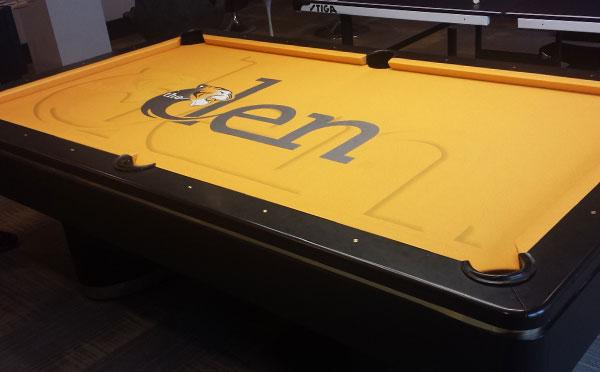 Missouri Tigers Den Custom ArtScape Pool Table Felt