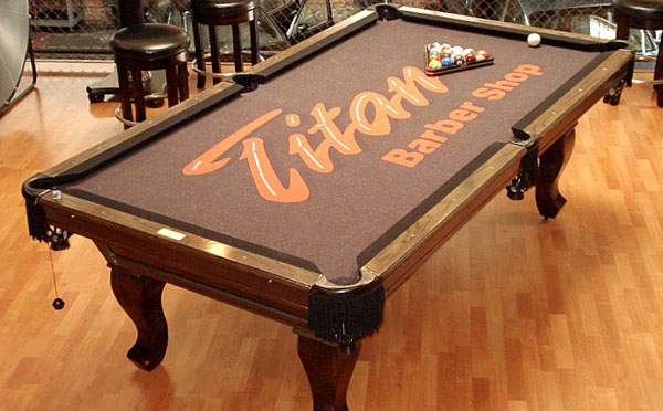 Examples - 3x6 pool table