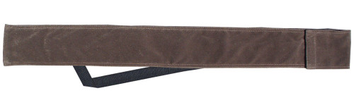 Sterling Brown Velvet Cue Case with Shoulder Strap