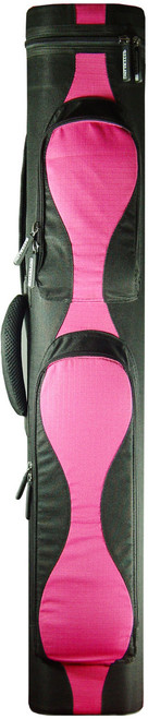 Sterling Black/Pink Wave Pool Cue Case for 2 Cues