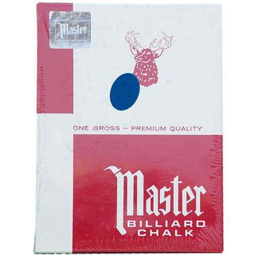 Master Chalk, Blue, 144-Piece Box