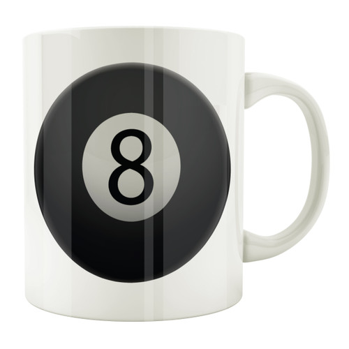 8-Ball 11oz. Coffee Mug