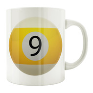 9-Ball 11oz. Coffee Mug