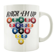 Rack 'Em Up 11oz. Coffee Mug