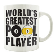 World's Greatest Pool Player 11oz. Coffee Mug