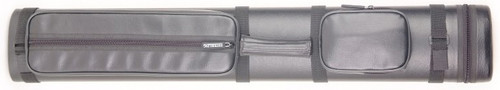 Sterling Black Hard Pool Cue Case for 2 Butts, 4 Shafts