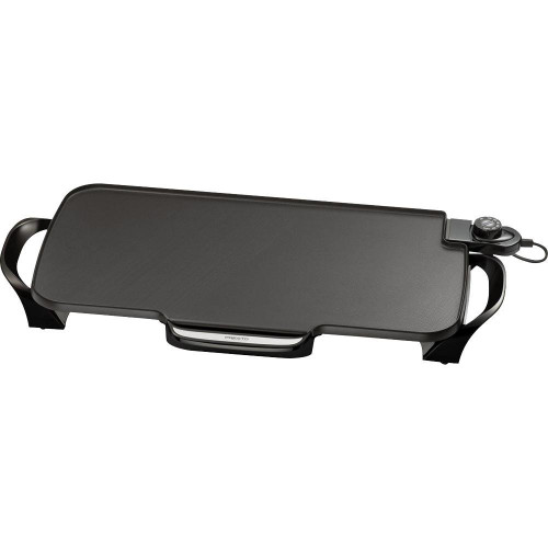 """Presto® 22"""" Electric Griddle w/ Removable Handles"""
