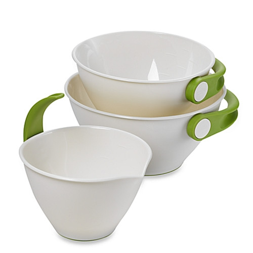 Chef'n® Pop + Pourr™ 3-Piece Mixing Bowl Set