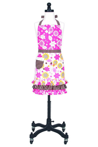 KAF Home Child's Hostess Apron, Adjustable Ties for Versatile, Bloomers