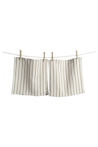KAF Home Whim Basket Weave Casserole Towels, Oatmeal, Set of 2