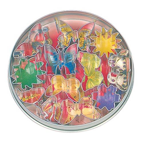 Fox Run 11-Piece Flower & Butterfly Cookie Cutter Set