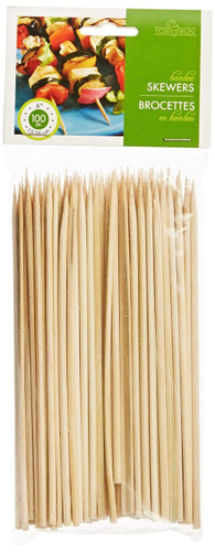 "Fox Run 6"" Bamboo Skewers, Set of 100"