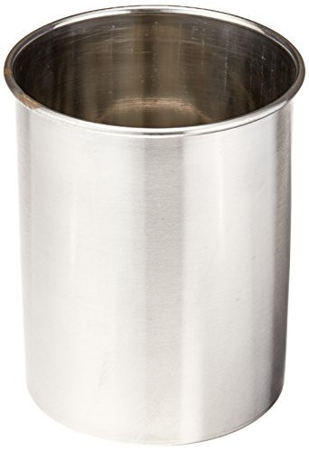 TableCraft Products Utensil Holder, Stainless Steel Brushed